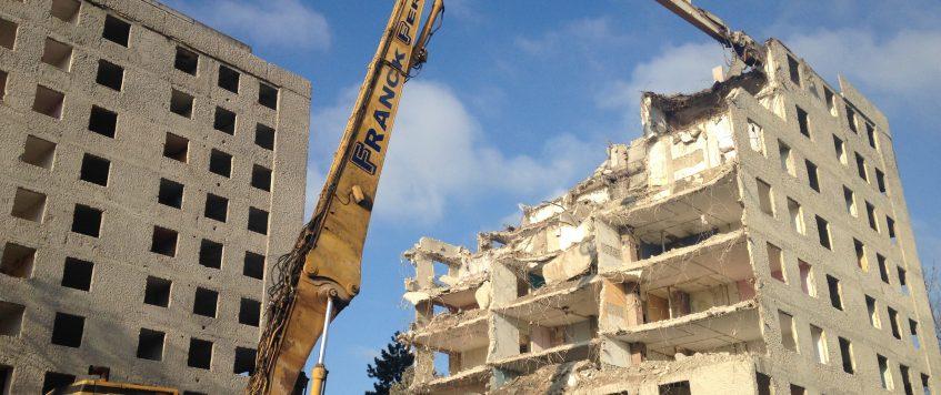 Franck Fer, une entreprise de démolition à taille humaine